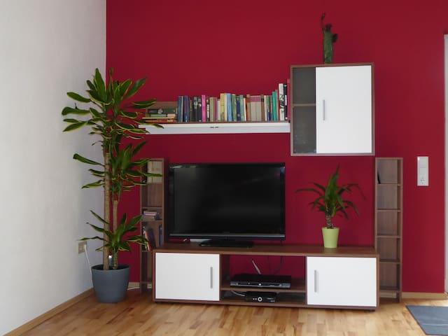 TV mit Satellit Empfang und DVD Player Satellite TV with DVD player