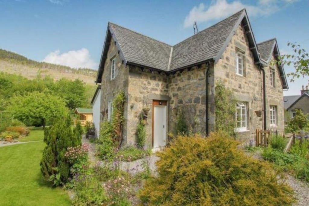 tranquil cottage in the highlands h user zur miete in inverness schottland vereinigtes. Black Bedroom Furniture Sets. Home Design Ideas