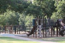 Playground in Cameron Park.