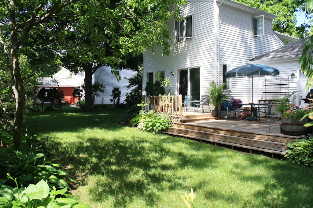 Backyard with Deck