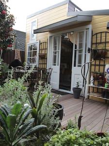 Magical garden studio with loft