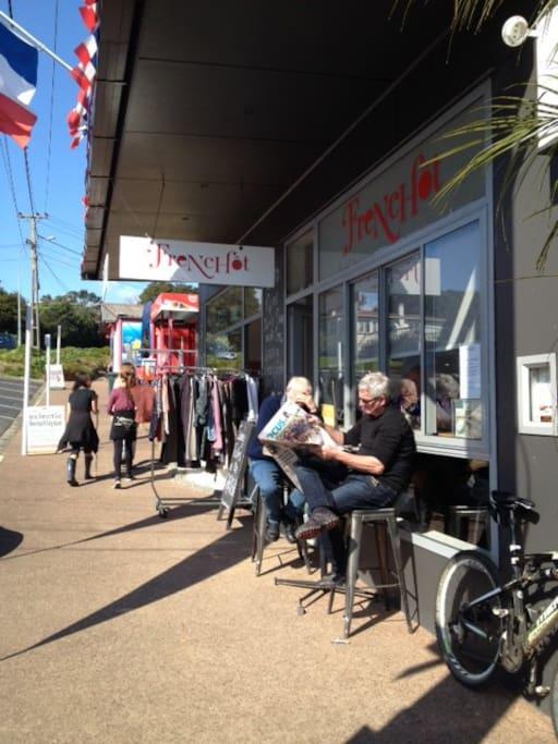 Frenchot Cafe 2.5 mins walk