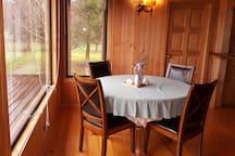 Dinner room view