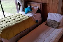 Secondary bedroom 1 with divan bed view 2