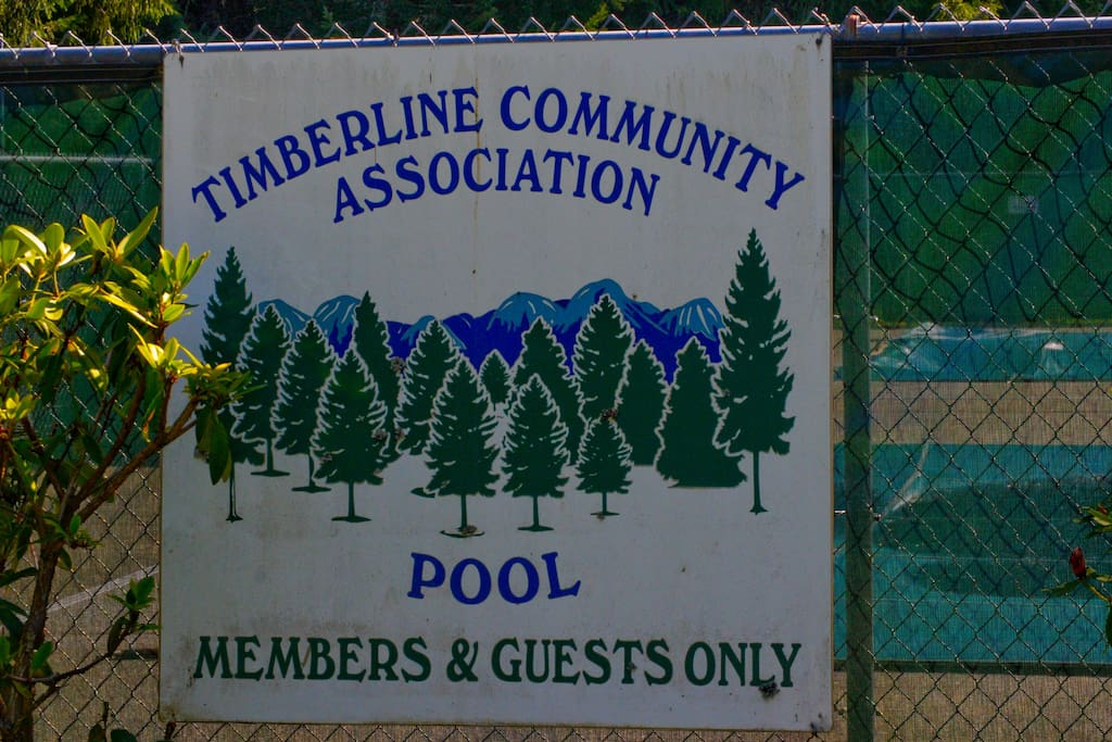 Elk View Lodge guests have free access to swimming in the Timberline Community pools from Memorial day through Labor Day.