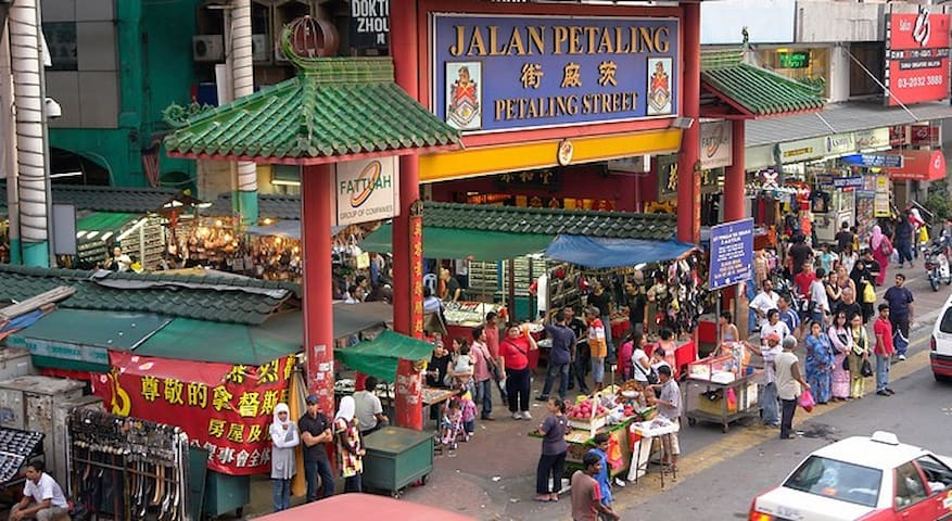 20 minutes drive to KL's famous nightlife spot at Petaling Street
