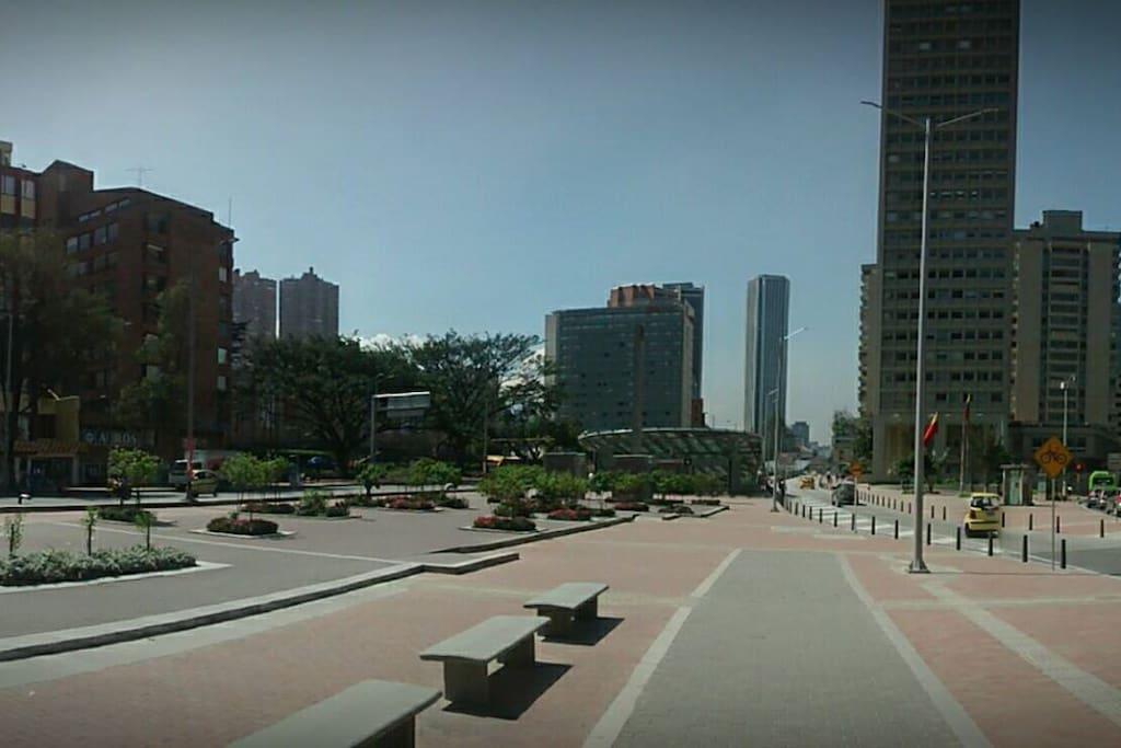 Museo Nacional-Torres del Parque-Centro Internacional-Torre Colpatria