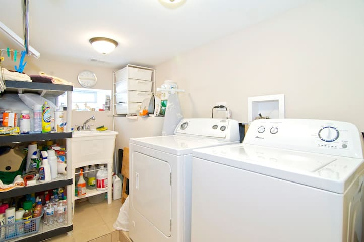 Newly remodeled lower level 1 BR/LR - Downers Grove - Дом