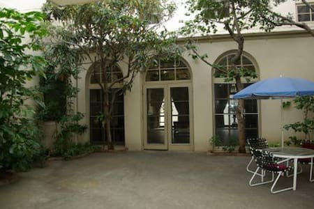 The Los Angeles Kolping House is located a couple blocks west from the Staple Center/LA Live/Convention Center. It is a room and board for men only. You will be staying in your own private, furnished room. 3 home cooked meals are provided from Mon-Sa