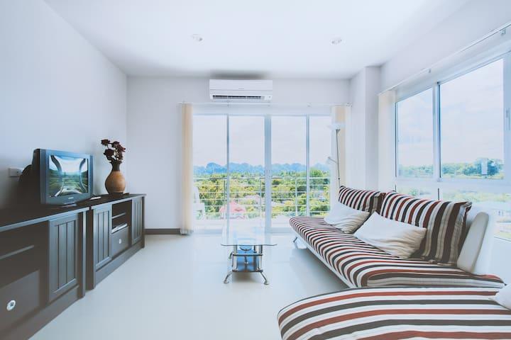 Eden Sunset View Condo Krabi Town - Paknam Muang - Apartment