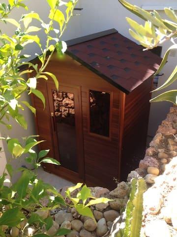 Le sauna extérieur