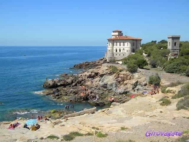 Terratetto a due passi dal mare - Livorno - Huis