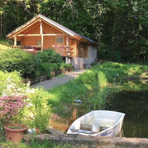 Comfortable log cabin