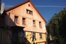 Das Haus wurde baubiologisch isoliert
