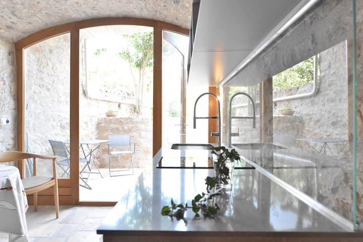 Charmante Garden Suite im Steinhaus