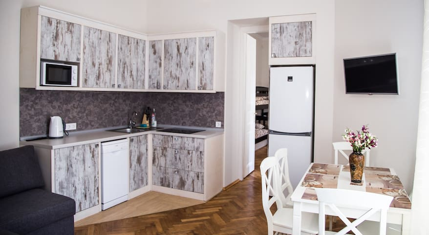 Apartment in the center of Lviv.