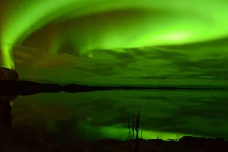 Aurora Borealis Lookout Lofoten - Vestvågøy - Casa