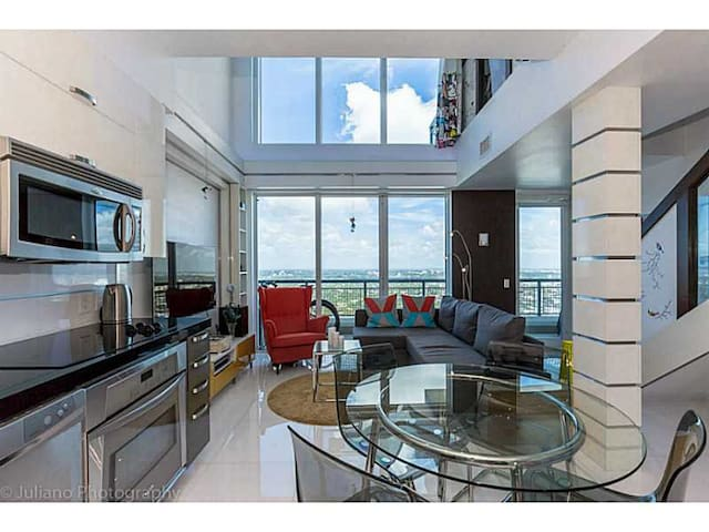 1100sq. Brickell's finest building! - Miami - Appartement