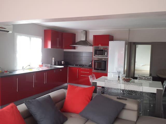 Bas de villa neuf - Cuttoli-Corticchiato - Casa