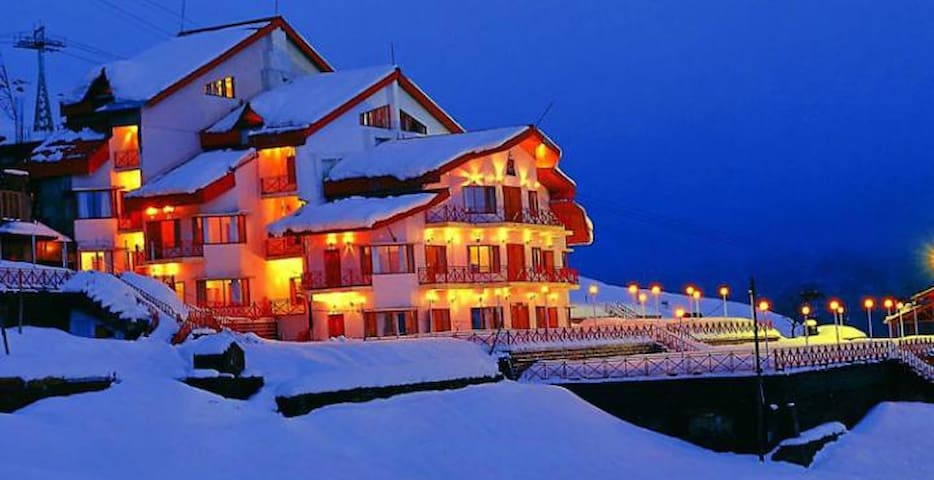 Cliff Top Club / Ski Resort Auli Uttarakhand