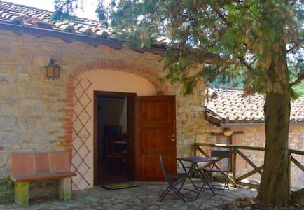 Antica Legnaia panoramica Trasimeno - San Savino - Casa