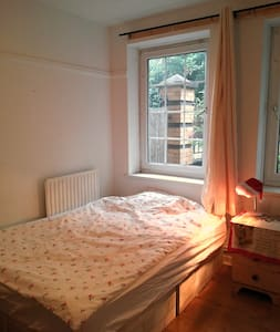Double room with lots of sunshine