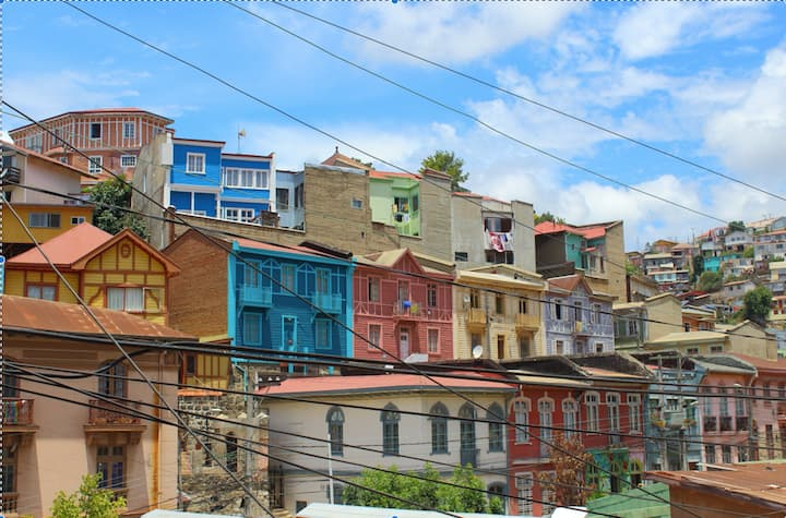 Valparaíso Vida de Barrio- Habitación Privada 1p
