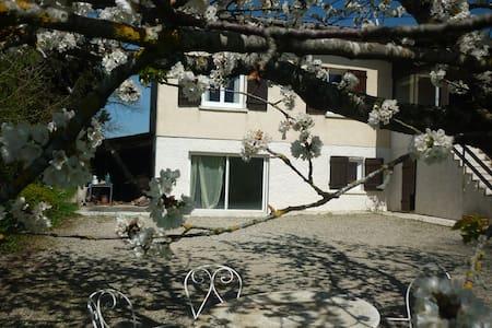 RDC de villa de 55m2 Avec jardin - Beaumont sur leze - Apartamento
