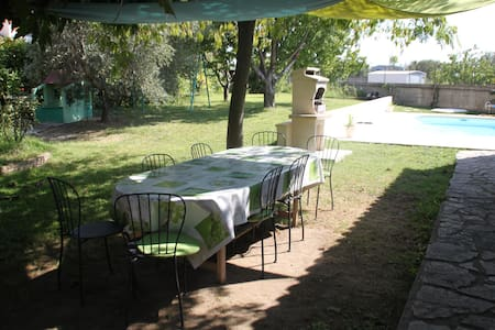 Maison,jardin ,piscine.8 personnes - Miramas