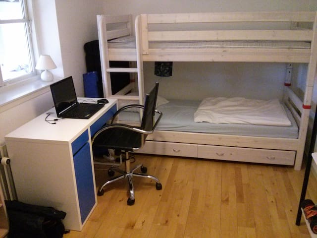 Kids room and mattress - Odense - Appartement