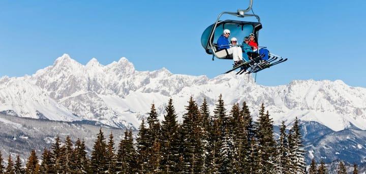 Skifahren in Ski amadé, Doppelzimmer