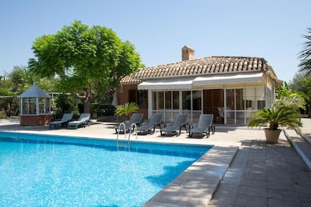 Private villa  with  swimming pool near the beach - Sant Joan d'Alacant - 牧人小屋