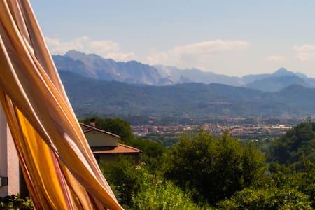 Casa del monte tra vigne e ulivi - Arcola - Apartament