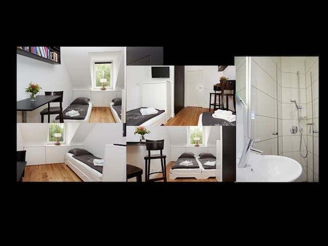 Guestroom for 2 with own bathroom - München - Apartment