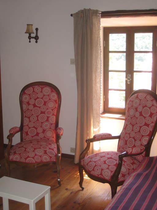 Le salon des invités