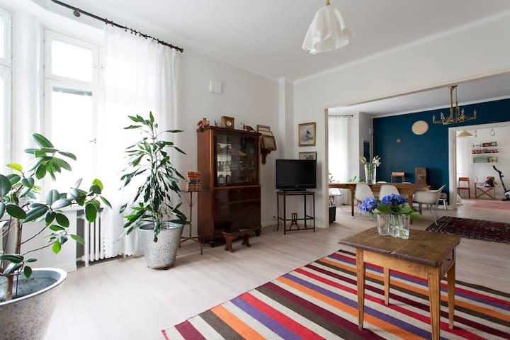 Beautiful flat, central location - Helsinki - Departamento