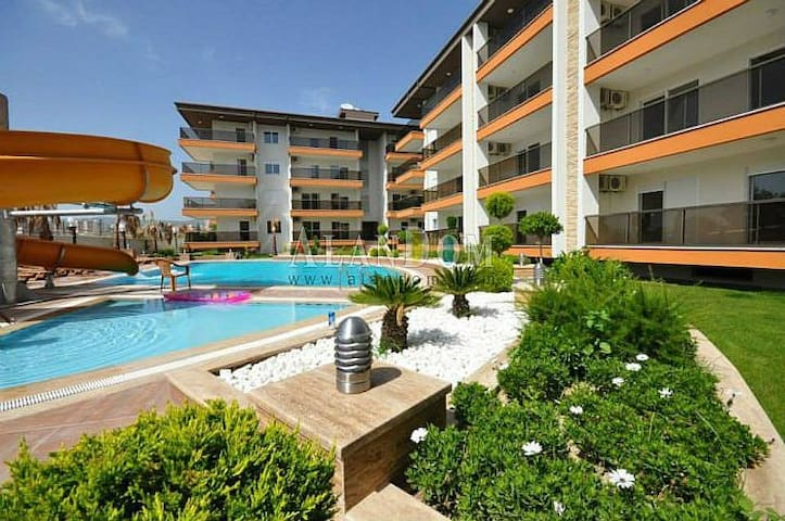 Аренда апартаментов 1+1 ДАЙМОНД БИЧ - Alanya - Apartment