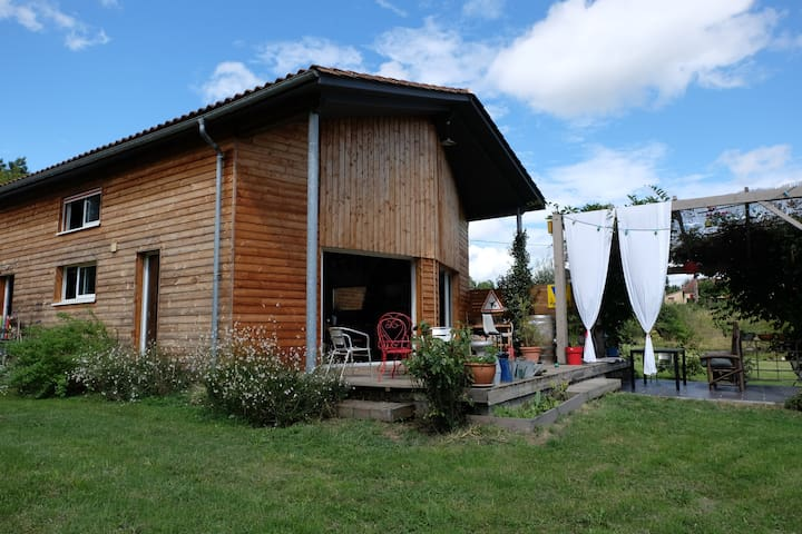 wooden house near Bergerac - Lembras - House