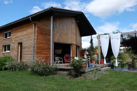 wooden house near Bergerac - Lembras - 独立屋