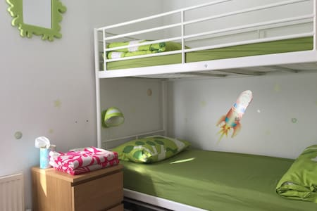 Bunkbed room. - Bedford - Bed & Breakfast