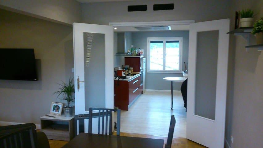 T2 confortable, vue parc et Ardèche - Saint-Vallier - Apartment