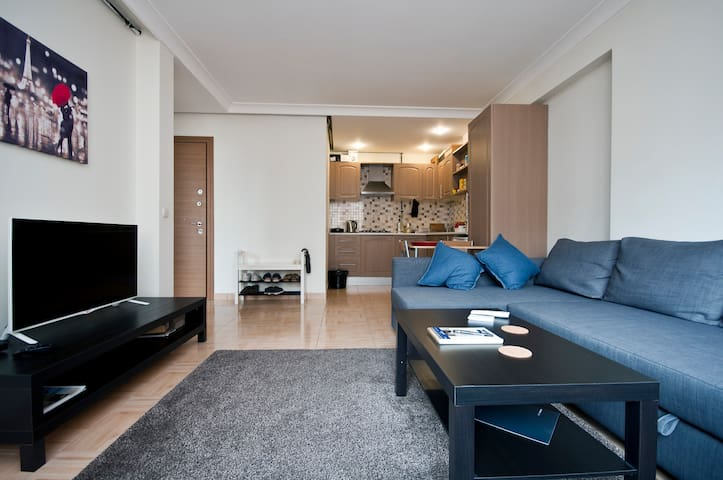Clean, chic, cozy, central location - İstanbul - Apartment