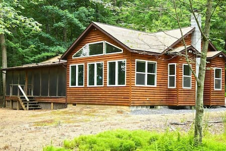 Charming 2BR/1BR Cabin on 6 acres - Wardensville