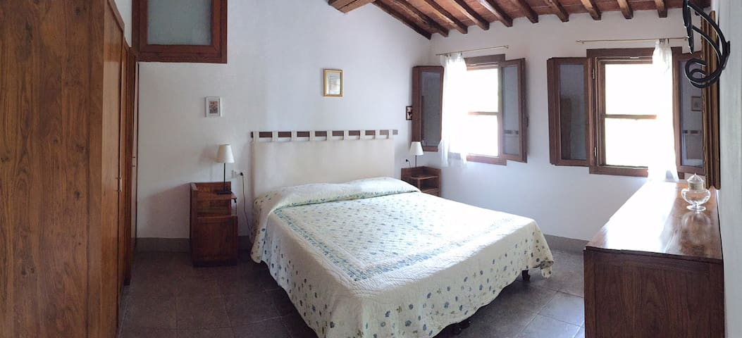 La Loggia, stone cottage for 2, with pool - Cavriglia - Casa