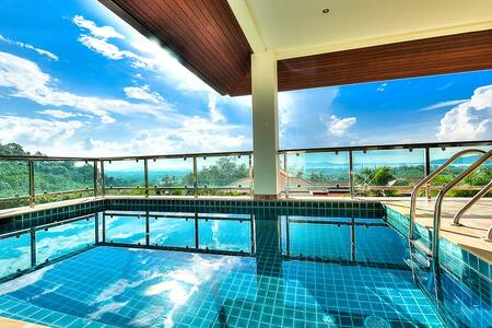 5 BDR Lux Seaview Pool Villa V4 - Chalong
