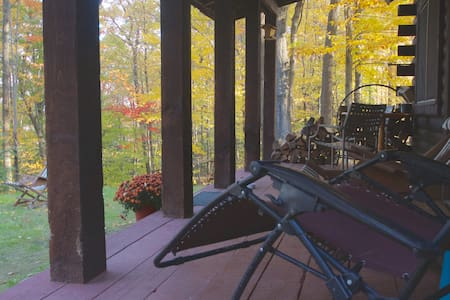Pine Hill Retreat,Log Cabin,30acres - Cohocton - Cottage