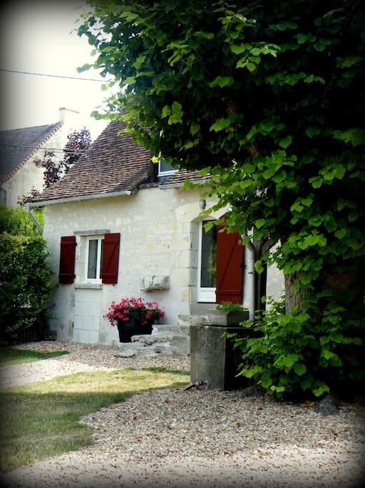 Maison de 60 m² typique de Touraine.