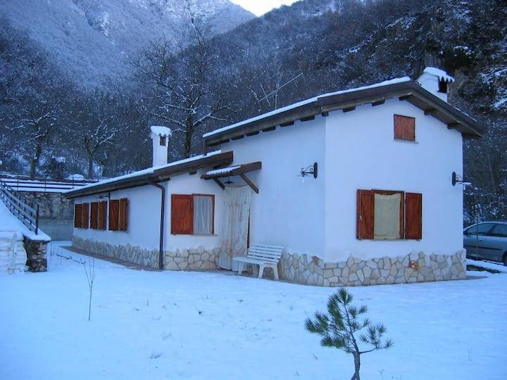 Villa a due passi dal lago Scanno