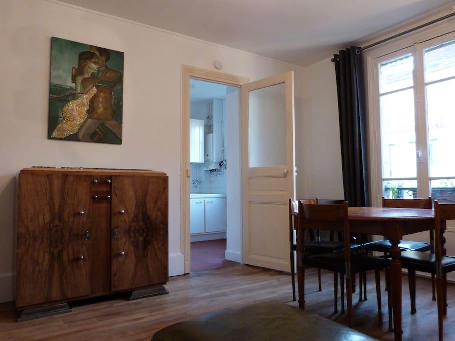 appartement art deco tbe 50m appartements louer montrouge le de france france. Black Bedroom Furniture Sets. Home Design Ideas
