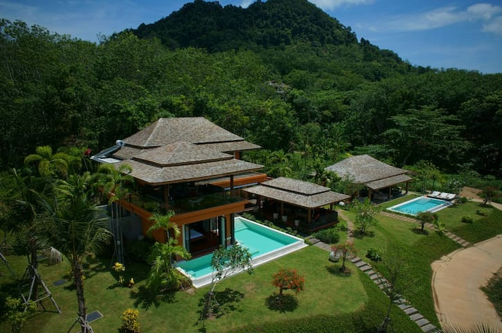 Baan CHACHA Luxury beach pool Villa - Ko Yao Noi